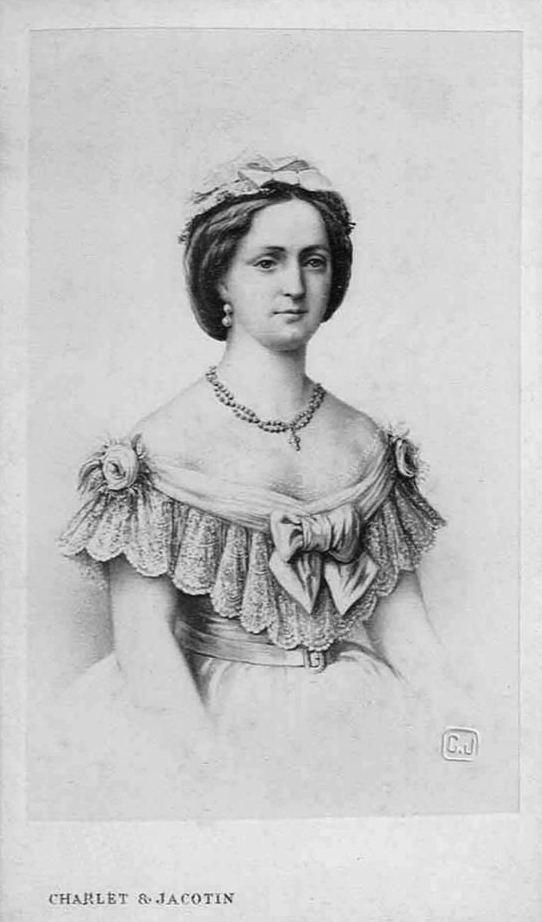 Louise of Hesse-Kassel ca 1869 Danish Queen Louise of HesseKassel by Charlet