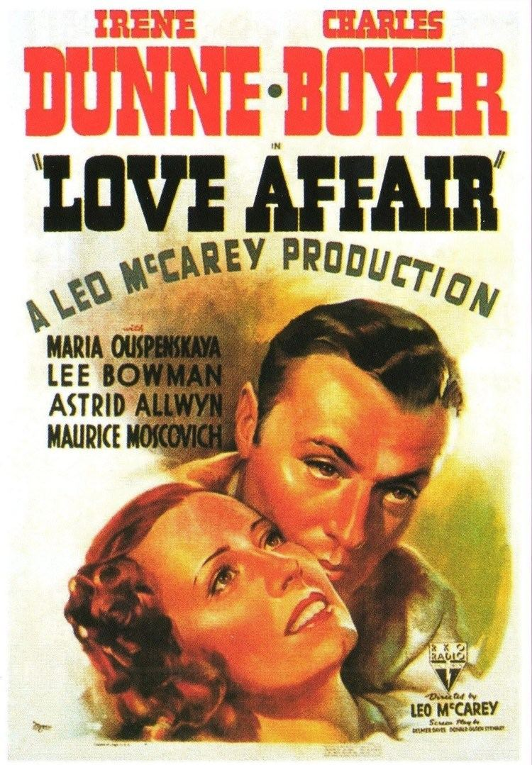 Love Affair (1939 film) Love Affair Elle et Lui 1939 YouTube