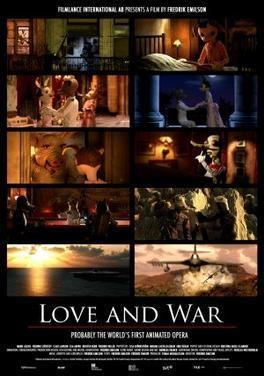 Love and War (film) movie poster