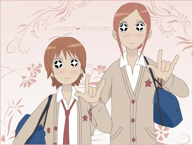 Love Com Lovely Complex Anime Pinterest Lovely complex and Anime