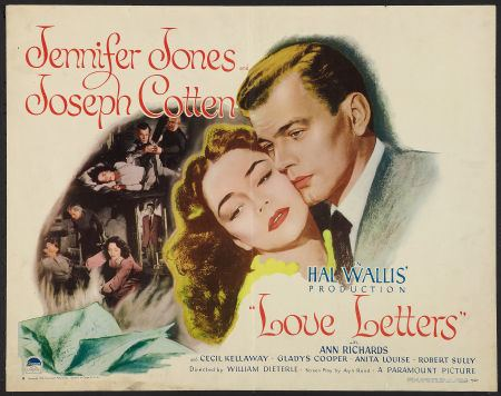 Love Letters (1945 film) Love Letters Songbook