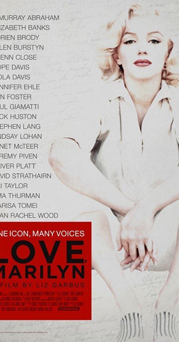 Love, Marilyn Love Marilyn 2012 IMDb