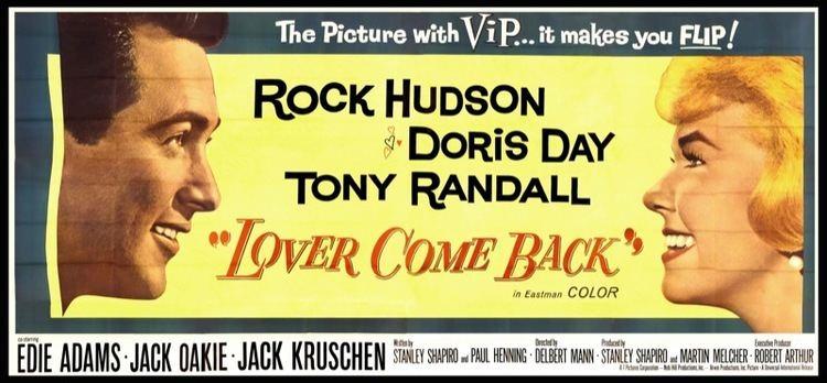 Lover Come Back (1961 film) Bettes Classic Movie Blog CMBA Guilty Pleasures Movie Blogathon