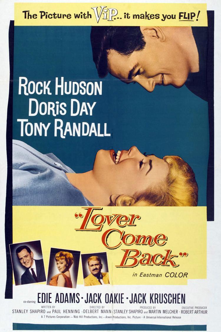 Lover Come Back (1961 film) wwwgstaticcomtvthumbmovieposters3512p3512p