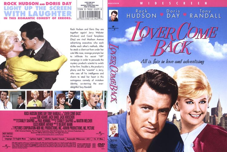 Lover Come Back (1961 film) Lover Come Back DVD Cover 1961 R1