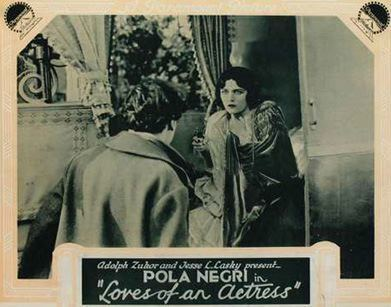 Loves of an Actress Nils Asther Loves of An Actress Pola Negri 1928