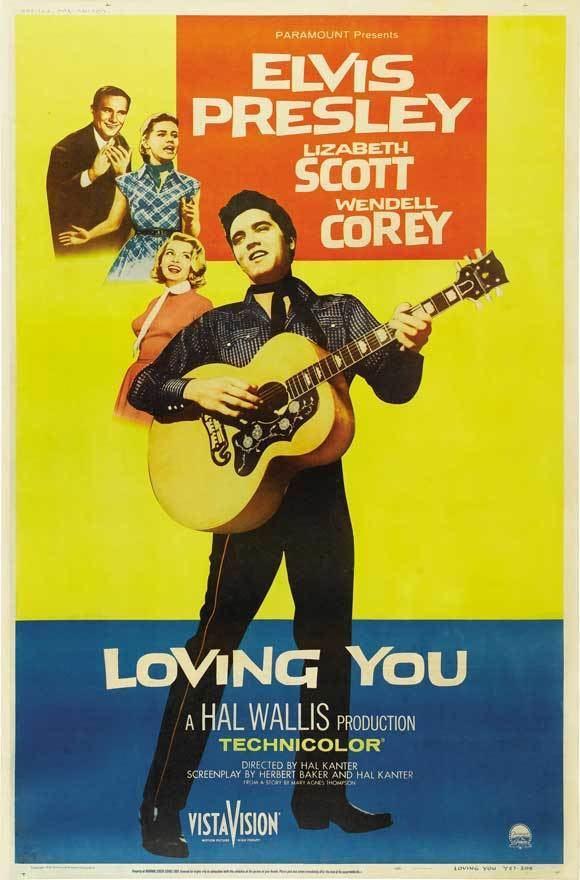 Loving You (1957 film) The Elvis Files Loving You 1957 Cinefille