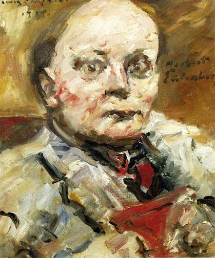 Lovis Corinth Portrait of the Poet Herbert Eulenberg Lovis Corinth
