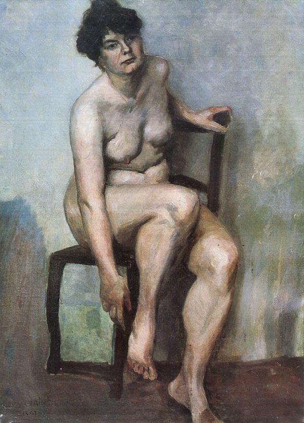 Lovis Corinth Naked Woman by Lovis Corinth Lovis Corinth Canvas