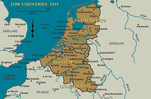 Low Countries Low Countries 1933