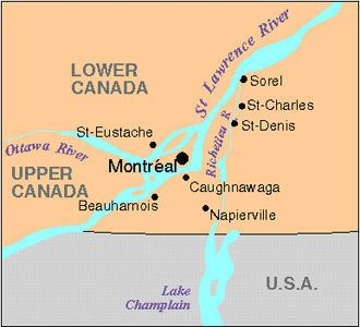 Lower Canada Rebellion Rebellion in Lower Canada The Canadian Encyclopedia