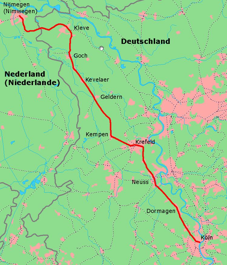 Lower Left Rhine Railway