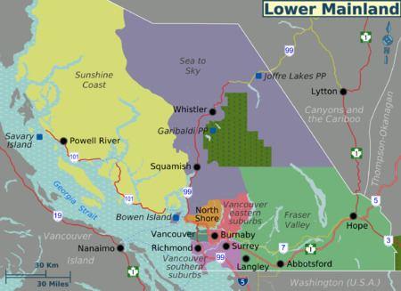 Lower Mainland Lower Mainland travel guide Wikitravel