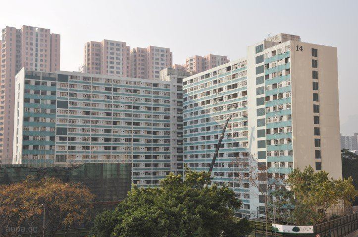 Lower Ngau Tau Kok (II) Estate Public Housing Tenements Commie Blocks Projects Housing