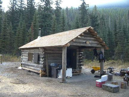 Lower Park Creek Patrol Cabin