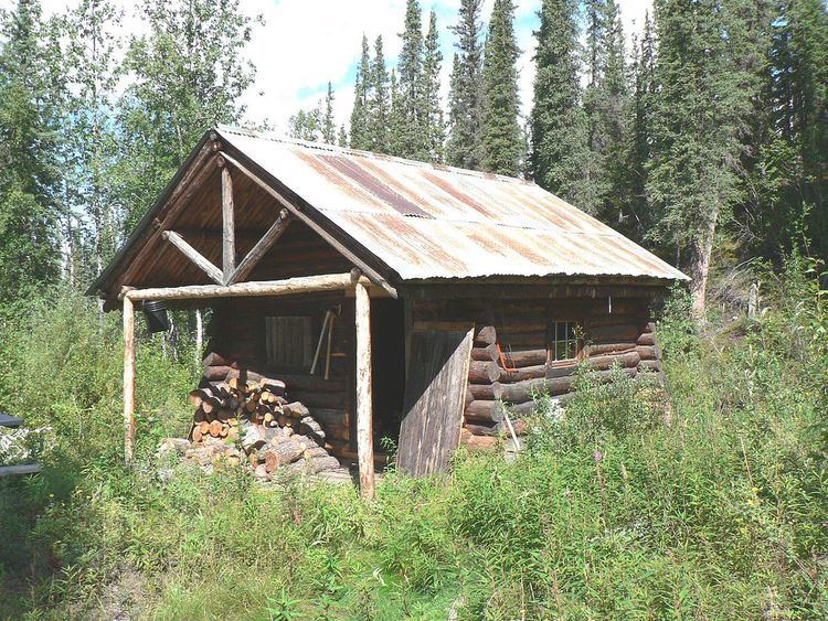 Lower Toklat River Ranger Cabin No. 18