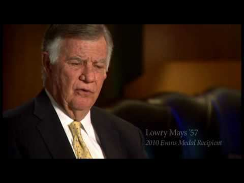 Lowry Mays Evans Medal Recipient Lowry Mays 57 YouTube