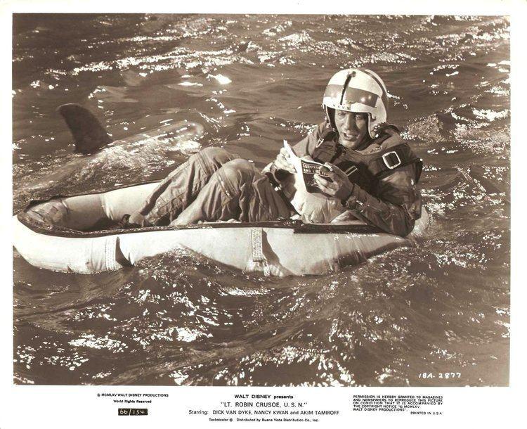 Lt. Robin Crusoe, U.S.N. DICK VAN DYKE in Disneys Lt Robin Crusoe USN Original
