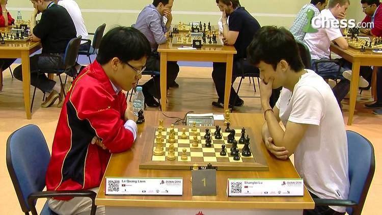 Lu Shanglei World Blitz Championship Le Quang Liem vs Lu Shanglei