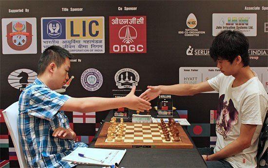 Lu Shanglei U20 WM Lu Shanglei und A Goryachkina Schach Nachrichten
