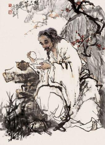 Lu Yu Lu Yu Sutra of Tea China Tea Culture Chinese Tea Culture
