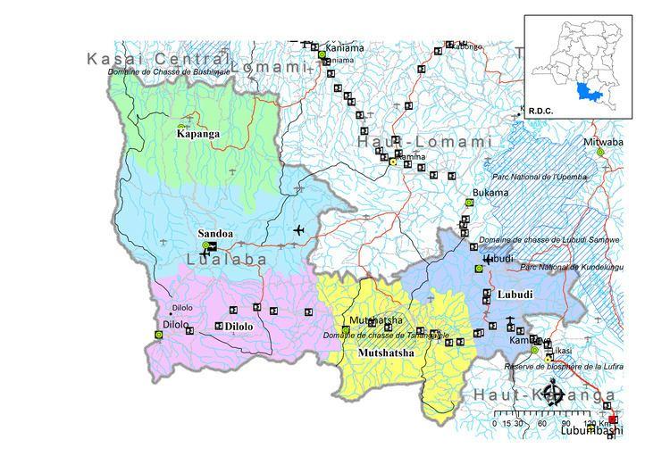 Lualaba Province Province de Lualaba CAID
