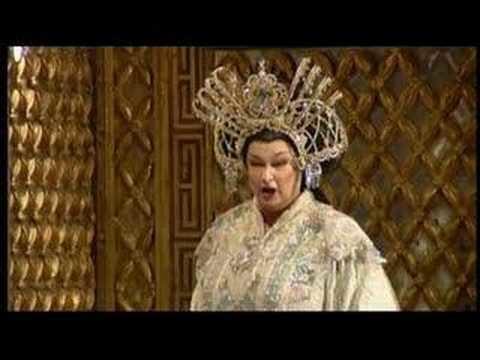 Luana DeVol Luana DeVol Turandot in questa reggia YouTube