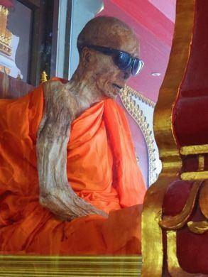 Luang Pho Daeng Mummy of Luang Pho Dang Ko Samui Thailand Atlas Obscura