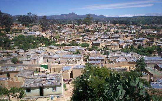 Lubango in the past, History of Lubango