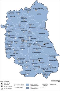 Lublin Voivodeship Wikipedia