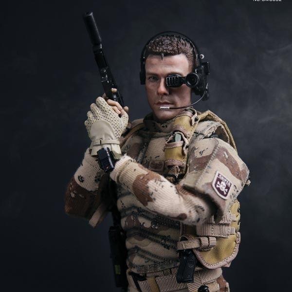 Luc Deveraux Monkey Depot Boxed Figure DamToys Universal Soldier Luc Deveraux