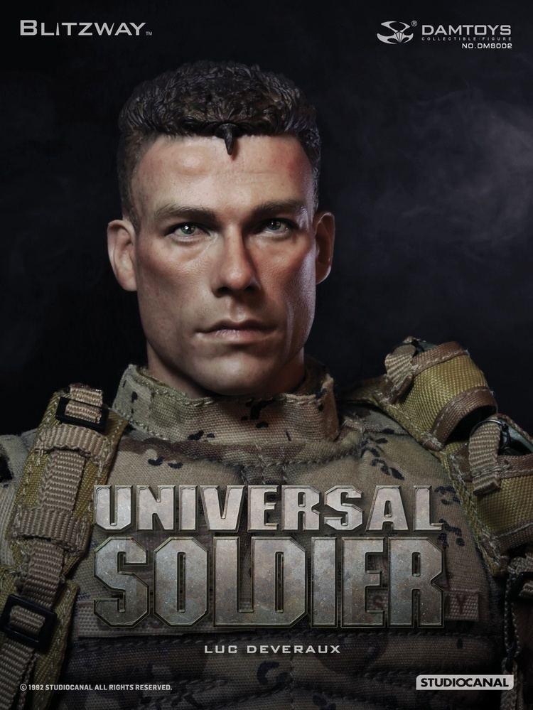Luc Deveraux Damtoys Blitzway 16 UNIVERSAL SOLDIER Jean Claude Van Damme Luc