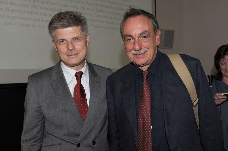 Luca De Filippo Carlo Presenti with Luca De Filippo Events