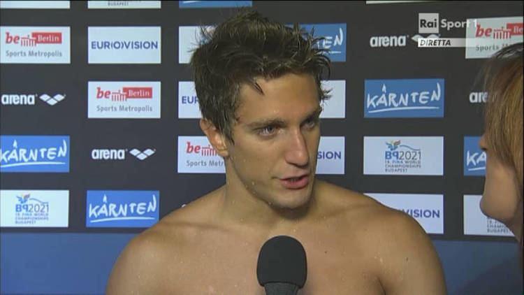 Luca Leonardi Luca Leonardi bronzo nei 100 sl Europei di nuoto