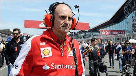 Luca Marmorini F1 Luca Marmorini moves to Renault after Ferrari exit