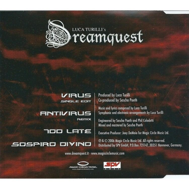 Luca Turilli's Dreamquest Virus by Luca Turilli39S Dreamquest CDS with revival Ref118150165