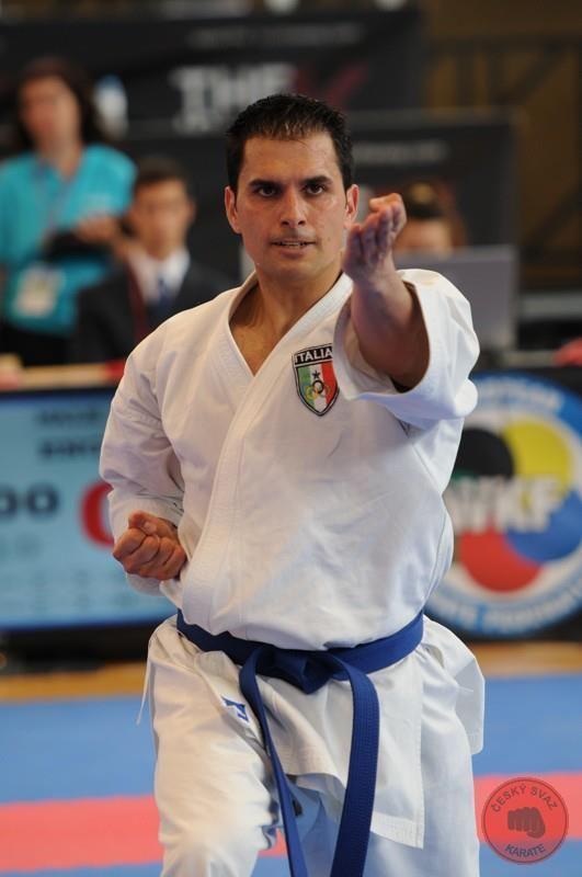 Luca Valdesi EKF 47th European Senior Karate Championships Adeje 2012