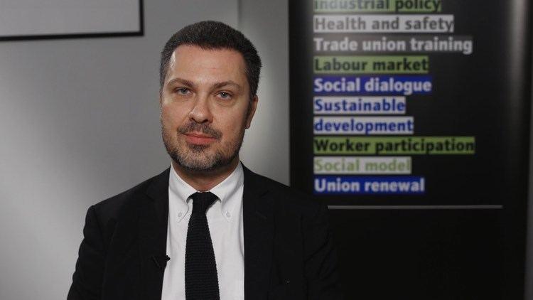 Luca Visentini Interview Luca Visentini Confederal Secretary ETUC 250914 YouTube