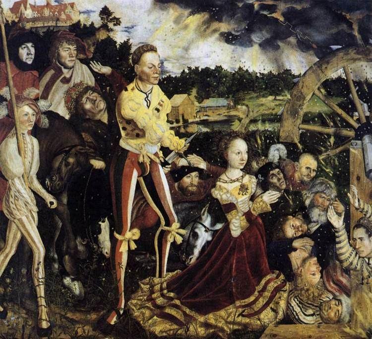 Lucas Cranach the Elder The Martyrdom of St Catherine Lucas Cranach the Elder