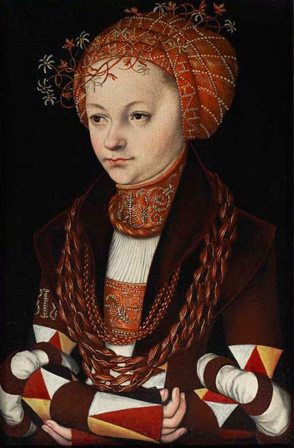 Lucas Cranach the Elder Lucas Cranach the Elder Portrait of a Lady AGO Art