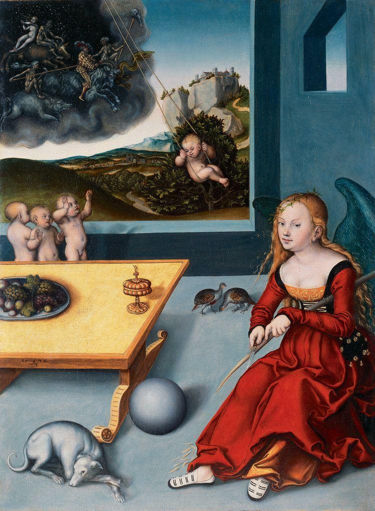 Lucas Cranach the Elder The Melancholy by Lucas Cranach the Elder