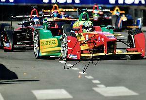 Lucas di Grassi Lucas Di GRASSI Autograph SIGNED 12x8 Photo Formula E Audi Sport
