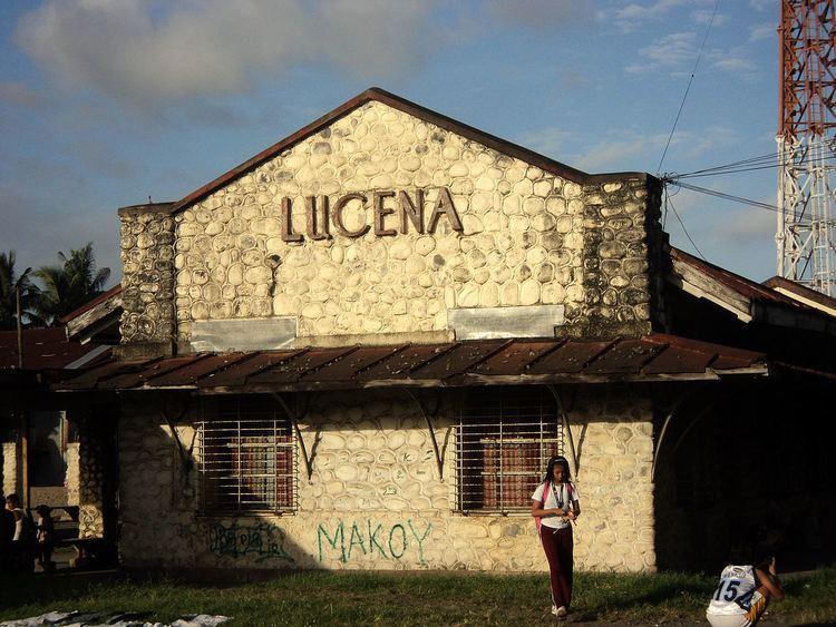 Lucena railway station