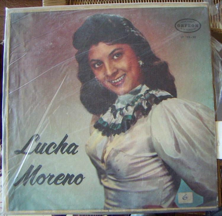 Lucha Moreno Bolero Lucha Moreno Que Padre Es La Vida Lp 12 Bfn US 9900