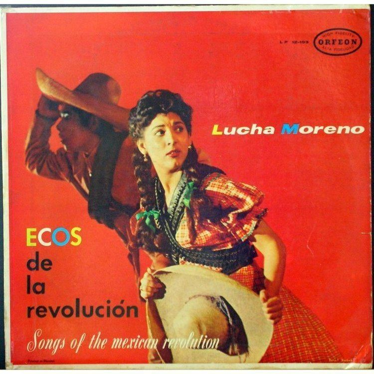 Lucha Moreno Ecos de la revolucion by Lucha Moreno LP with muzik31 Ref114837808