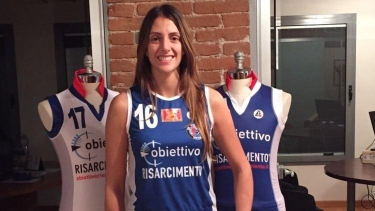 Lucia Crisanti Volley A1 Femminile Vicenza tessera Lucia Crisanti Corriere
