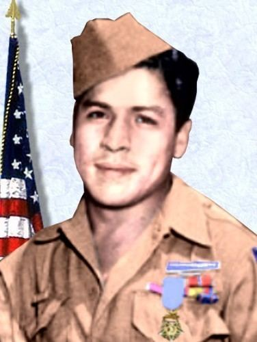 Lucian Adams Photo of Medal of Honor Recipient Lucian Adams