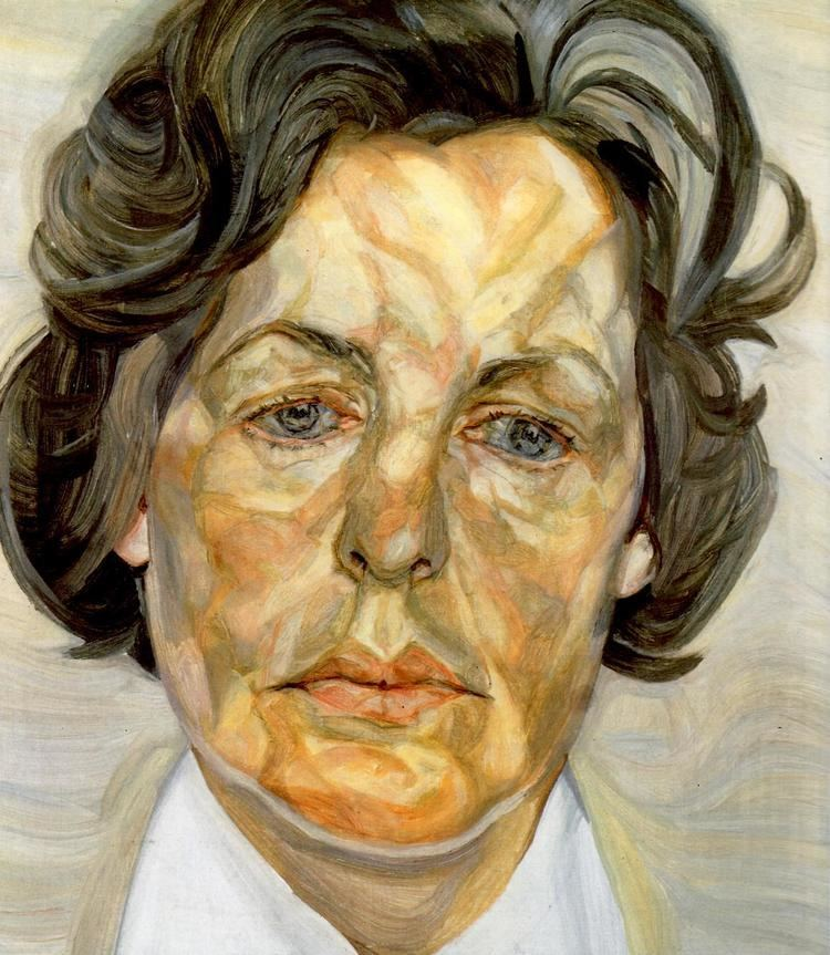 Lucian Freud Woman in a White Shirt Lucian Freud WikiArtorg