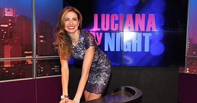 Luciana by Night Luciana Gimenez lana novo programa de entrevistas BOL Fotos
