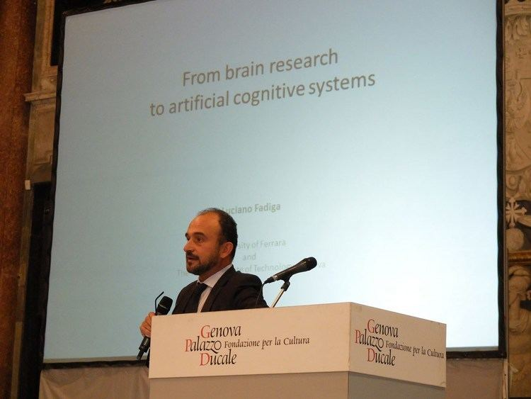 Luciano Fadiga Luciano Fadiga From brain research to artificial cognitive system